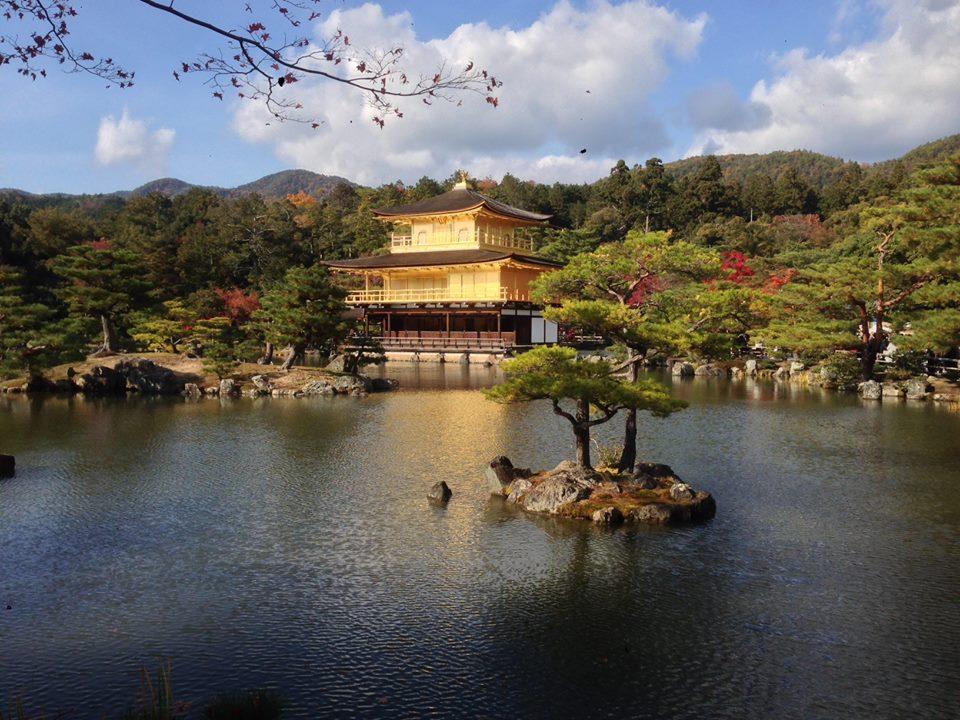A Buddhist temple in Kyoto