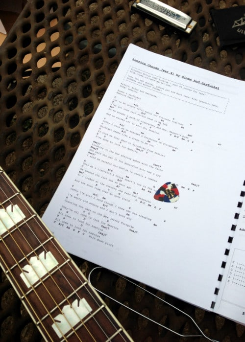 Tutorial: DIY Chord Books – Take All Your Songs Everywhere |