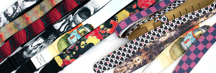 customize your own guitar straps