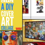 DIY Music Cover Art Collage: Fun Art Project
