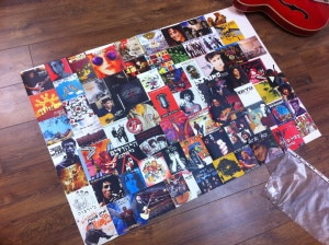 fun art project music collage
