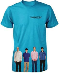 gift ideas for musicians weezer