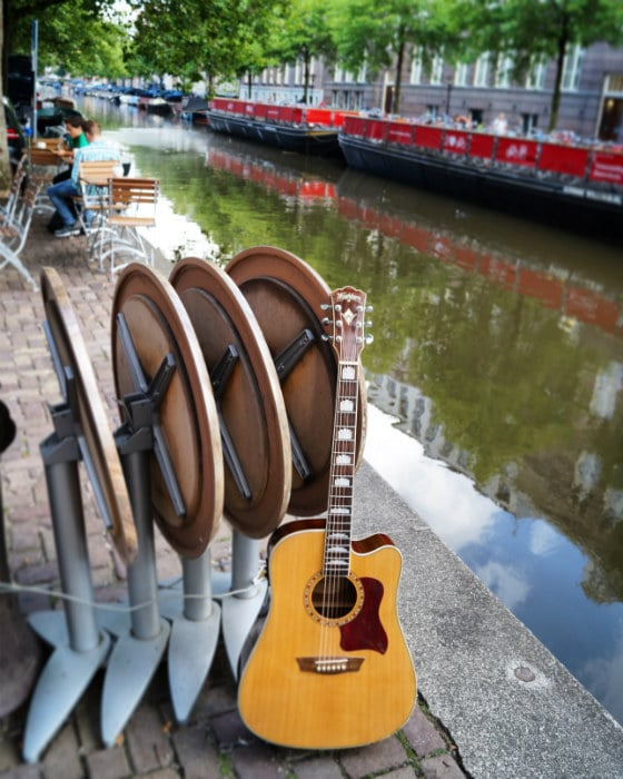 A weekend in Amsterdam with your guitar, not as expensive as you might think!