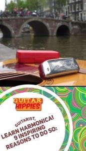 guitarist learn harmonica