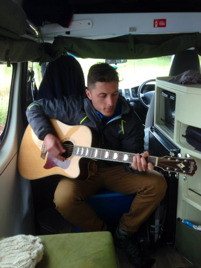 My Italian travel friend Angelo - also a truly great guitar and harmonica player