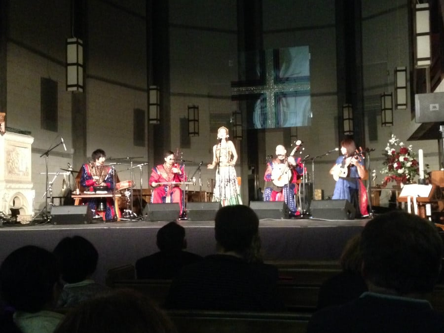 Asian music show which was really awesome and exposed me to some new sounds.