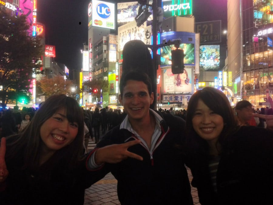 Got to Tokyo, Japan in late November. This city makes New York look pale...