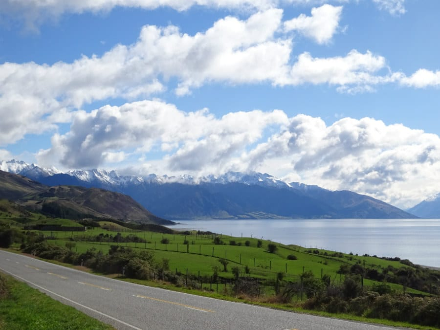 Typical New Zealand landscape. Paradise is real.