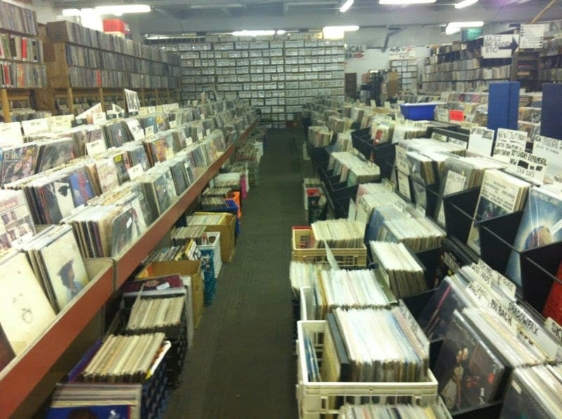 Jerry's fine used records. One of the country's biggest vinyl stores in Pittsburgh, PA. Scored some amazing records and almost everything for 5$ or less!