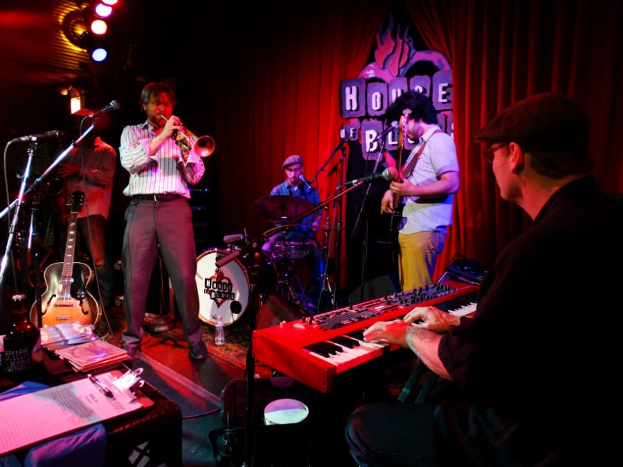The California Honeydrops live in The House Of Blues, Chicago