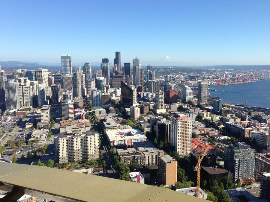 The west coast. Seattle - still a grunge capital and home of Jimi Hendrix, Nirvana and many other greats