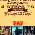 4 Steps to Never Run Out of Songs to Play! REPERTOIRE Development