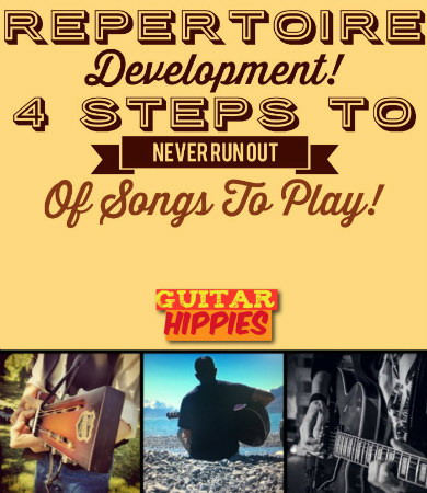 4 Steps to Never Run Out of Songs to Play! REPERTOIRE Development |