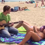 Serenading Girls With Awkward Songs – a Funny Video