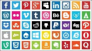 free-flat-social-media-icons