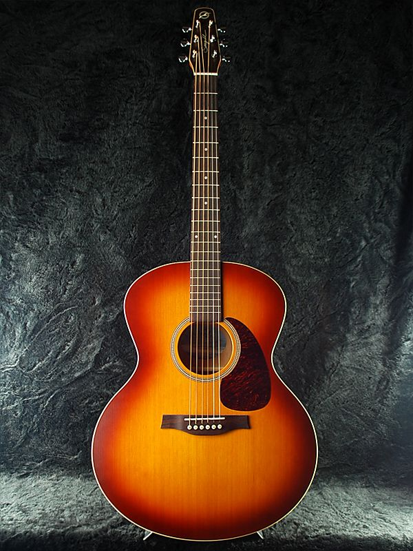 beautiful acoustic guitars seagull entourage rustin mini jumbo