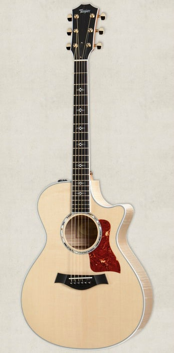 beautiful acoustic guitars taylor 612ce1