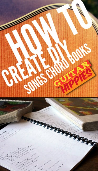 Tutorial Diy Chord Books Take All Your Songs Everywhere