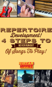 Time to work on your repertoire - read here about a cool method to learn more songs by heart!