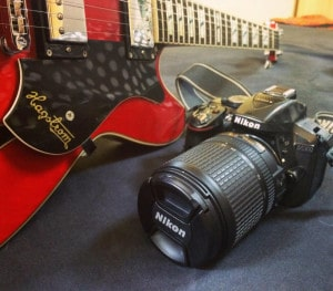 A high quality camera lets you take some spectacular photos that turn into beautiful memories from your musical journeys