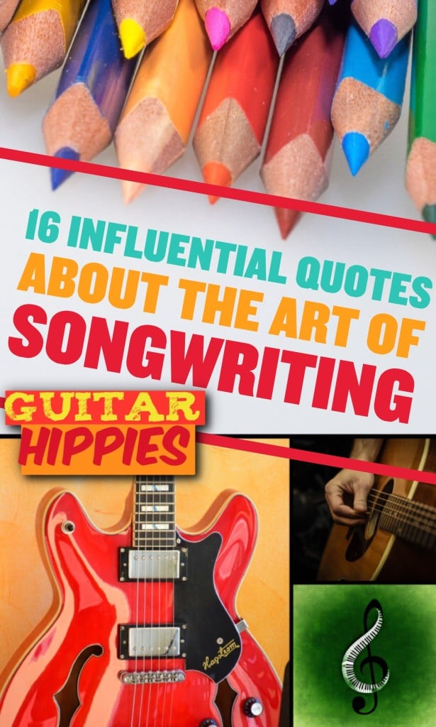 Some of the most peculiar quotes from big songwriters - about songwriting, are in this link