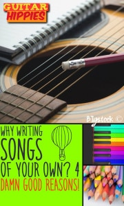 write songs of your own