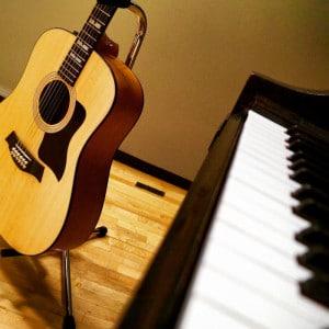 piano guitar