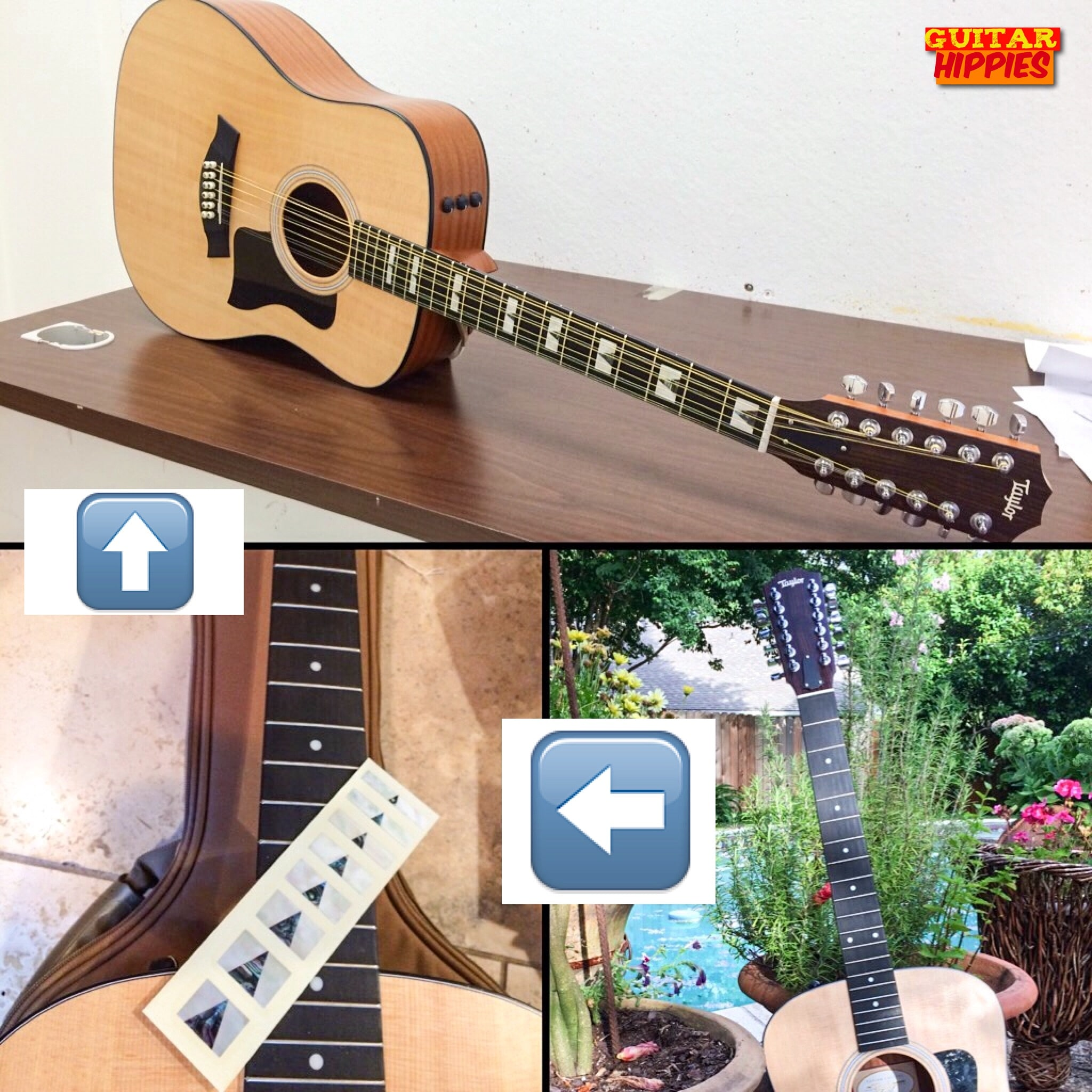 9 different ways to customize your guitar almost for free. Black Bedroom Furniture Sets. Home Design Ideas