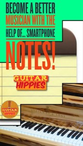 guitar smartphone notes