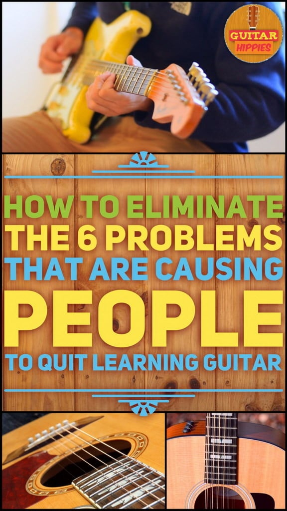 why people quit learning guitar