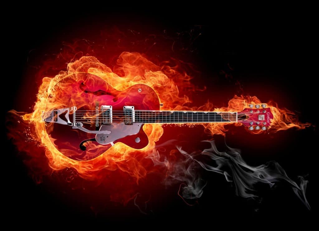 the slow death of the electric guitar