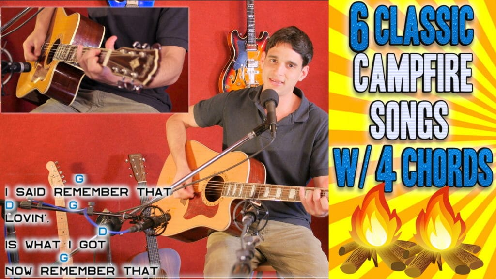 Video Play 6 Classic Campfire Songs With Just 4 Chords