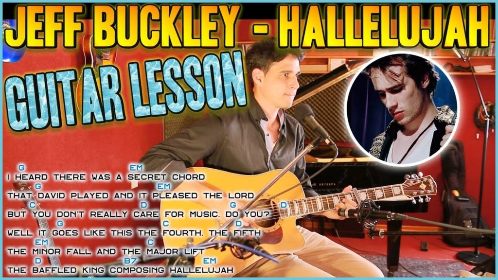 Hallelujah Jeff Buckley Guitar Lesson