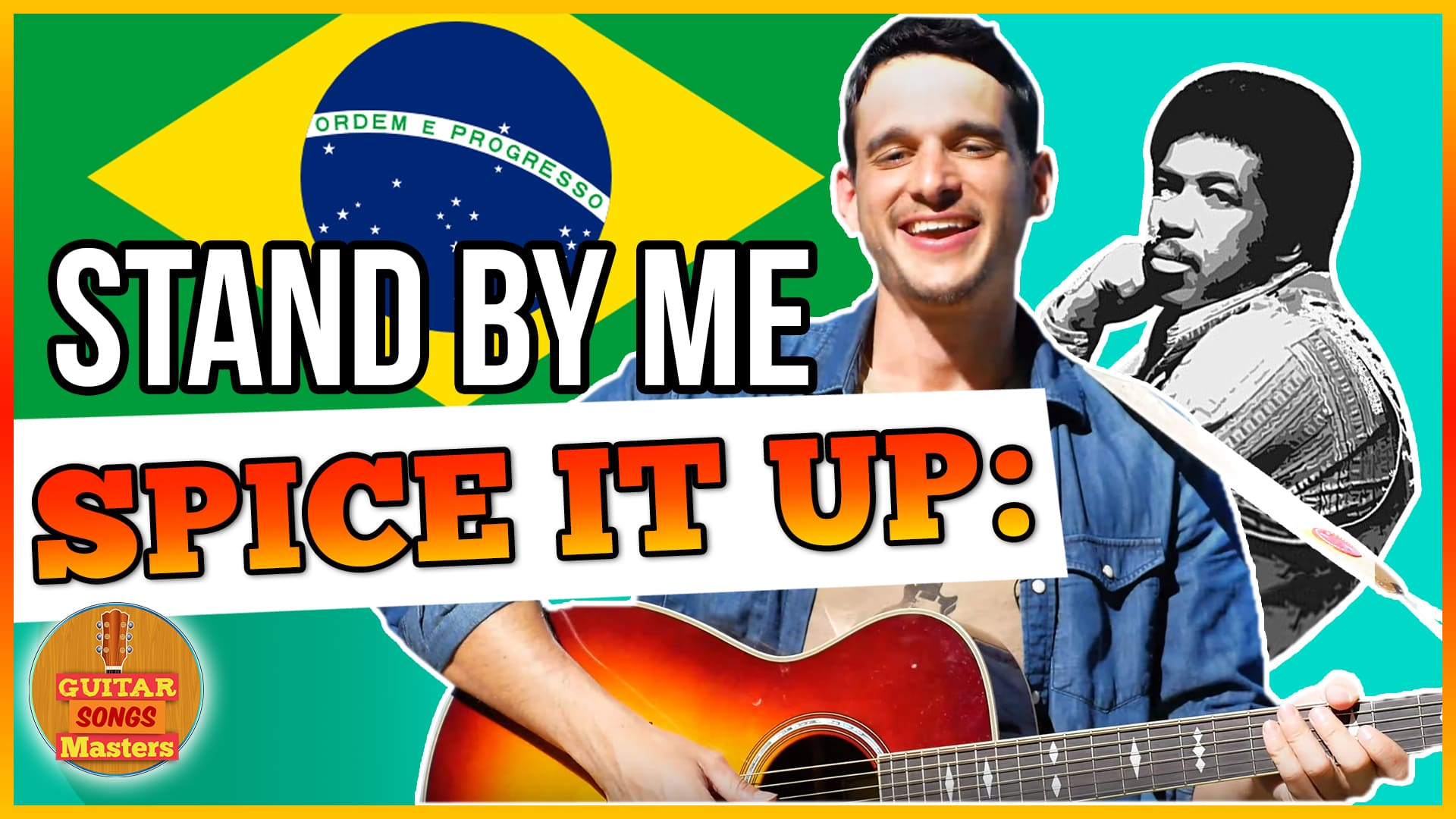 """Play """"Stand By Me"""" As a Jazz-Groove OR Bossa Nova Style"""